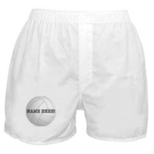 Personalized Volleyball Player Boxer Shorts