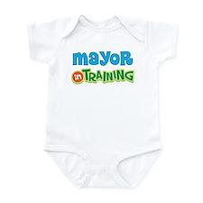 Mayor in Training Infant Bodysuit