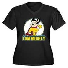 I Am Mighty Plus Size T-Shirt