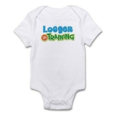Logger in Training Infant Bodysuit