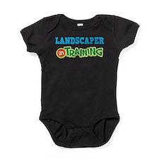Landscaper in Training Baby Bodysuit