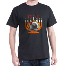 2013 Turkey and Menorah T-Shirt