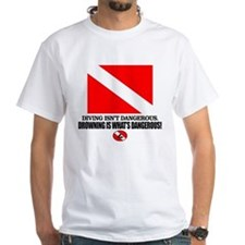 Dive Flag (Diving Not Dangerous) T-Shirt