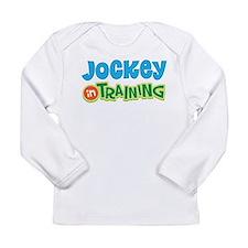 Jockey in Training Long Sleeve Infant T-Shirt