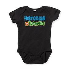 Historian in Training Baby Bodysuit