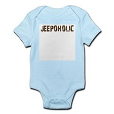 Jeepoholic. 4x4 Off Road Jeep  Infant Bodysuit