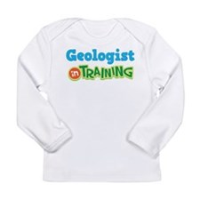 Geologist in Training Long Sleeve Infant T-Shirt