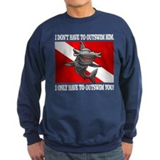 Dive Flag (Outswim) Sweatshirt