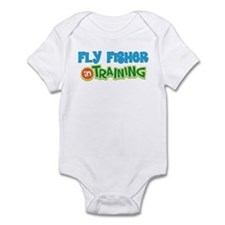 Fly Fisher in Training Infant Bodysuit