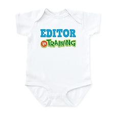 Editor in Training Infant Bodysuit