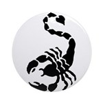 Scorpion Ornament (Round)