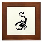 Scorpion Framed Tile