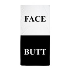 BUTT FACE Beach Towel