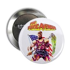 Toxic Avenger Button