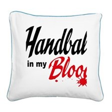 handball Square Canvas Pillow