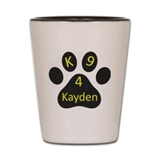 K9~4Kayden Logo Shot Glass