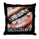 DIRTY SOUTH Throw Pillow