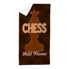 Chess Queen Beach Towel