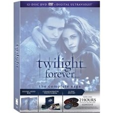 Twilight Forever: The Complete Saga Box Set [DVD +