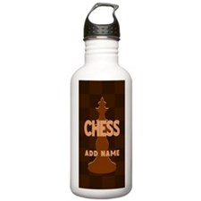 King of Chess Water Bottle