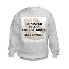 Army Brother Sister wears DCB Sweatshirt