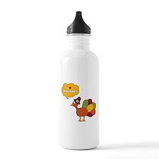 I Heart Tofurkey Water Bottle