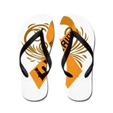 Multiple Sclerosis Warrior Flip Flops