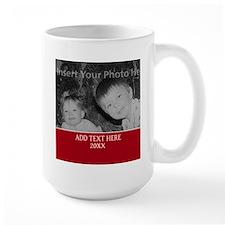 Completely Custom Red Mugs