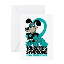 Tourette's Superpower Greeting Card