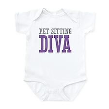 Pet Sitting DIVA Infant Bodysuit