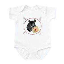 Chin Valentine Infant Bodysuit