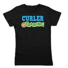 Curler in Training Girl's Tee