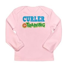 Curler in Training Long Sleeve Infant T-Shirt