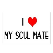 I LOVE MY SOUL MATE Postcards (Package of 8)