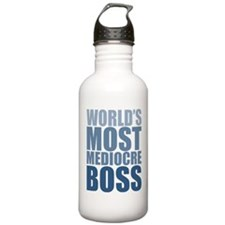 Worlds Most Mediocre Boss Water Bottle