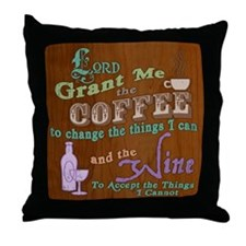 Cup of Serenity Throw Pillow