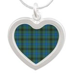 Tartan - Henderson Silver Heart Necklace
