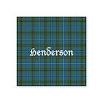 Tartan - Henderson Square Sticker 3