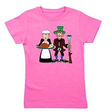 The pilgrims Girl's Tee