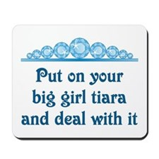 Big Girl Tiara Mousepad
