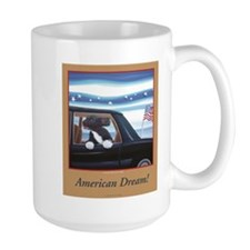 Bo the First Dog living the American Dream Mugs