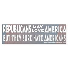 Republicans may love America but they sure do hate