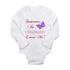 Colorado State (Butterfly) Long Sleeve Infant Body