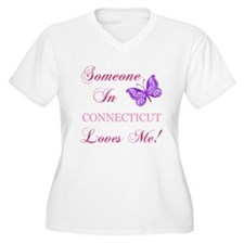 Connecticut State (Butterfly) T-Shirt