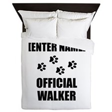 Official Pet Walker Personalize It!: Queen Duvet