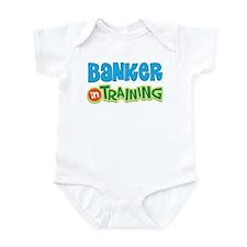 Banker in Training Onesie