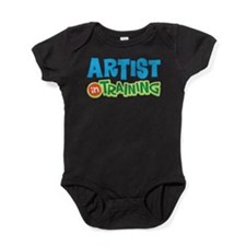 Artist in Training Baby Bodysuit