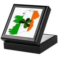 Map of United Ireland Keepsake Box