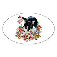 Cat Ribbons Decal