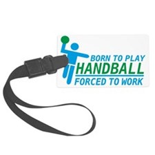 handball Luggage Tag